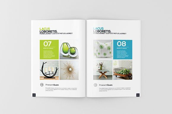 A4 Magazine / Brochure Mock-Up by ToaSin on @creativemarket