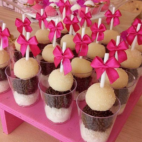 Ideias criativas e diferentes para servir os docinhos de festa Blog Festa infant…