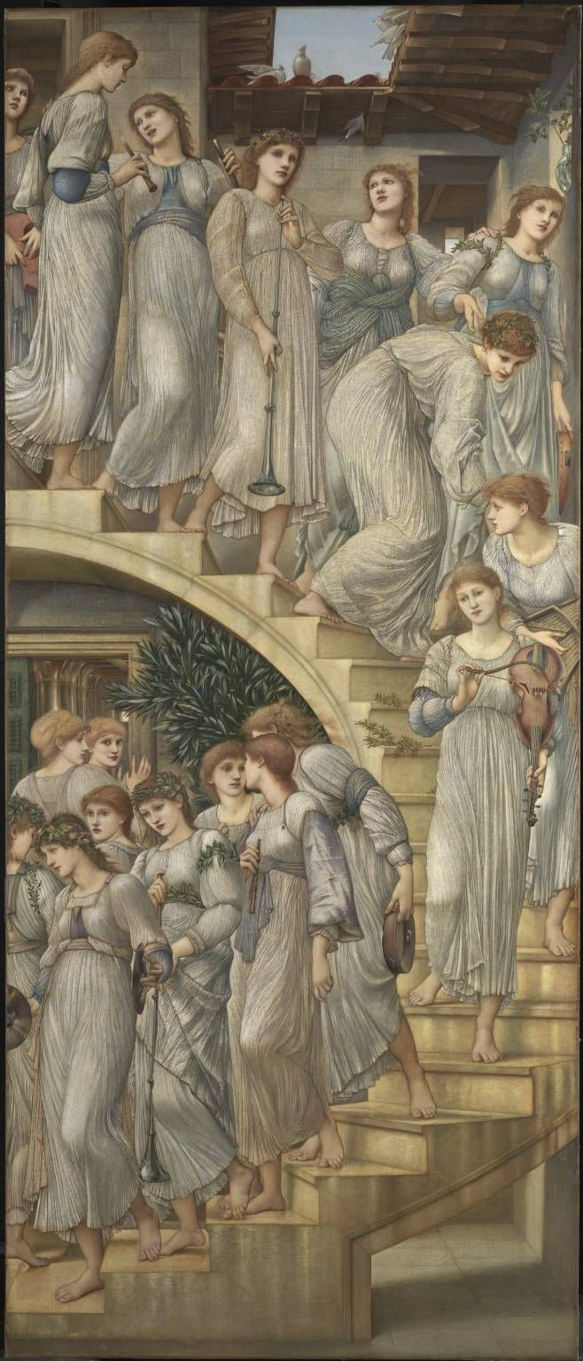 'The Golden Stairs' - Sir Edward Coley Burne-Jones, 1880
