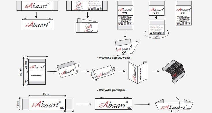 ABAART печать ярлыки для одежды из полиэстра бирки наклейки этикеты ткани