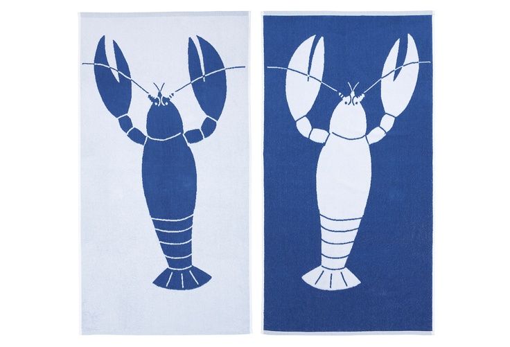 S. Haskell Lobster Towel, Royal Blue on One Kings Lane todayLobsters Towels, One King Lane, Fun Stuff, Royal Blue, Products, Haskell Lobsters