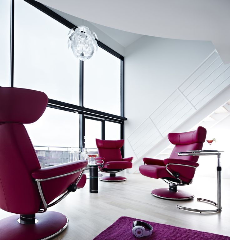 Brighten up your home with a Cerise coloured chair!