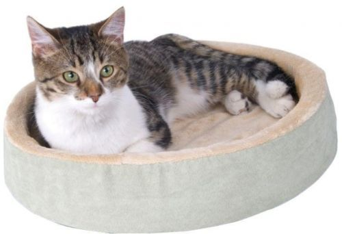 Beds 66762: K And H Pet Products Thermo-Kitty Cuddle Up Small Sage Heated Cat Bed -> BUY IT NOW ONLY: $61.99 on eBay!