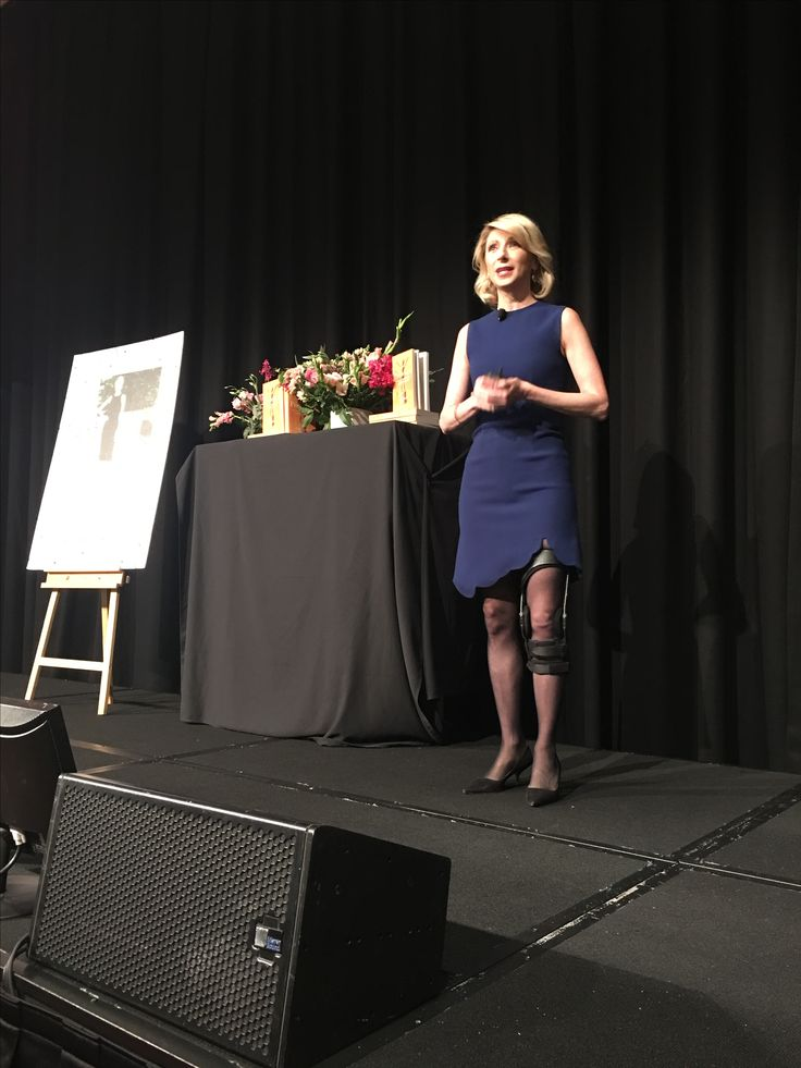 Best seats in the house listening to Amy Cuddy thanks to Business Chicks.