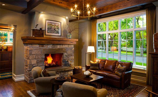 Craftsman Living Room Decors Craftsman Living Rooms Living Room Warm Rustic Living Room