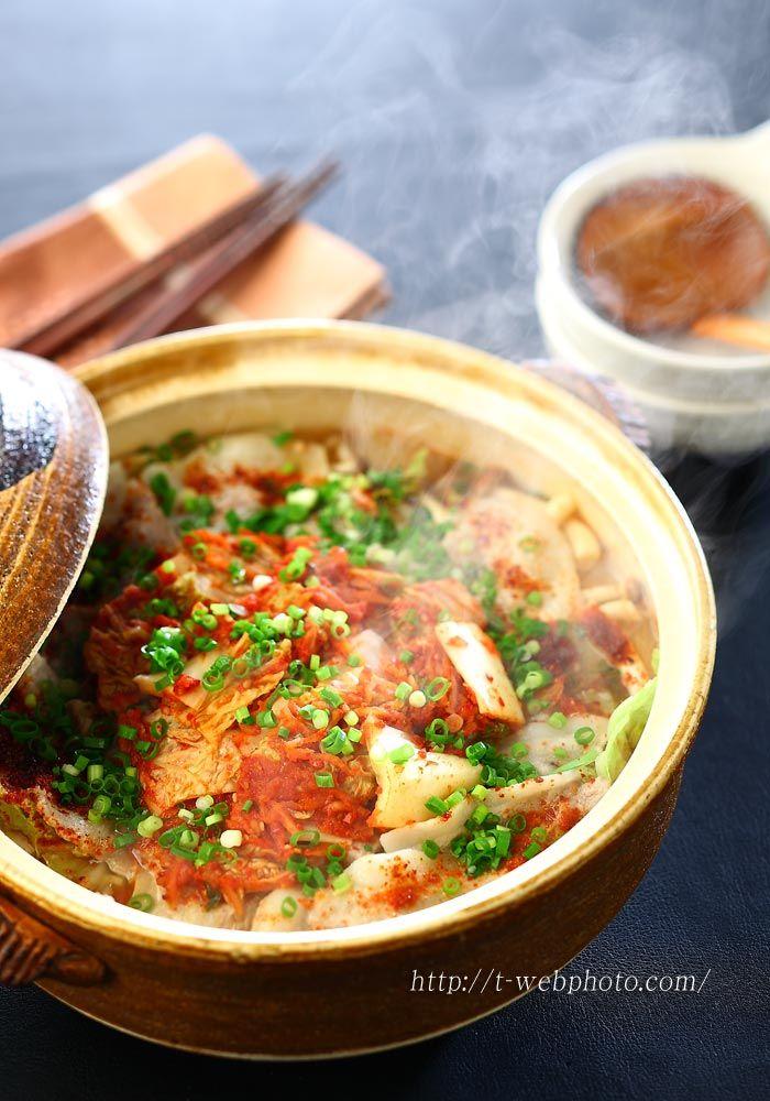 Japanese food / 豚キムチ鍋 Pork Kimchi Nabe