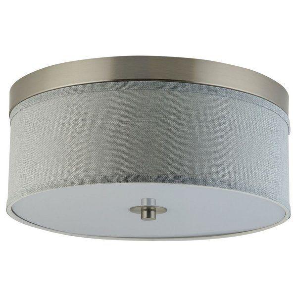Broyles 2 Light 15 Simple Drum Flush Mount Flush Mount Lighting Wall Lamps With Cord Flush Mount