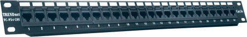 TRENDnet 24-port Cat5/5e Unshielded Patch Panel TC-P24C5E