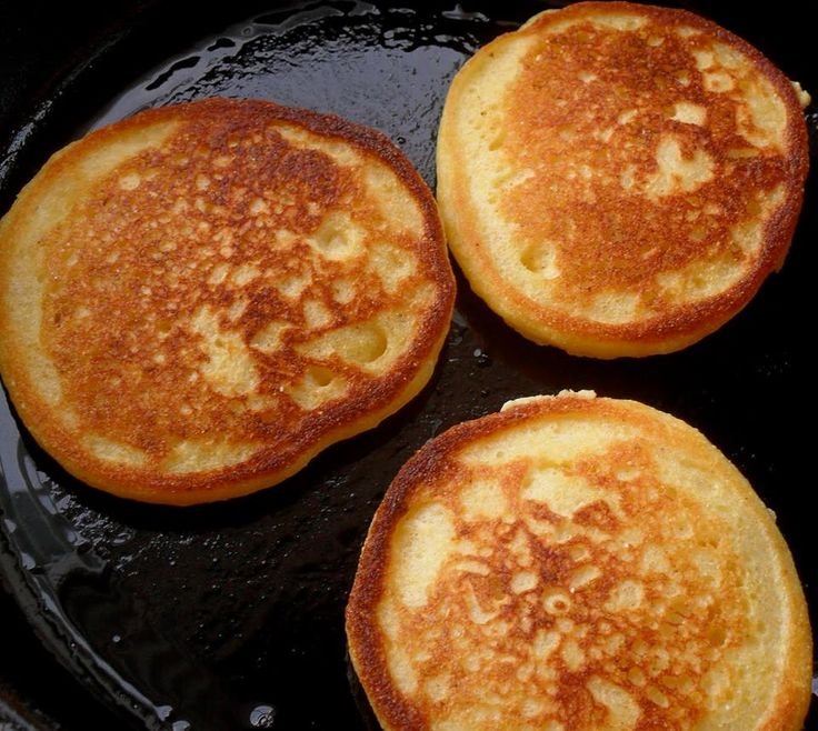 Fried Cornbread – Southern Cornmeal Hoecakes! – Easy Recipes