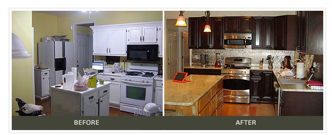 White Cabinets To Findley U0026 Myers Palm Beach Dark Chocolate.