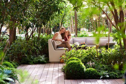 Les nouvelles terrasses de l'été 2012 à Paris : Le Jardin du Mandarin Oriental