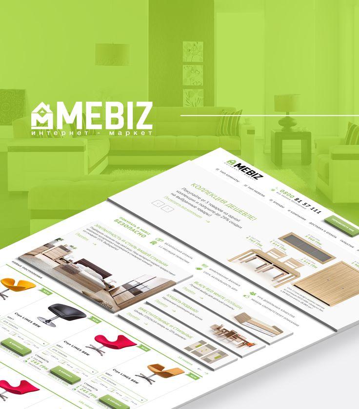 """Consulta este proyecto @Behance: """"MeBiz - website"""" https://www.behance.net/gallery/36331879/MeBiz-website"""