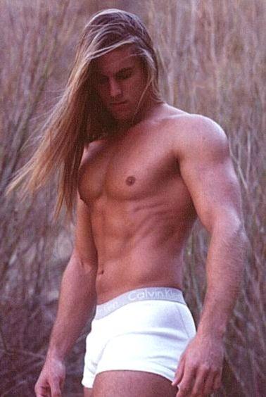 hot sexy guys long hair