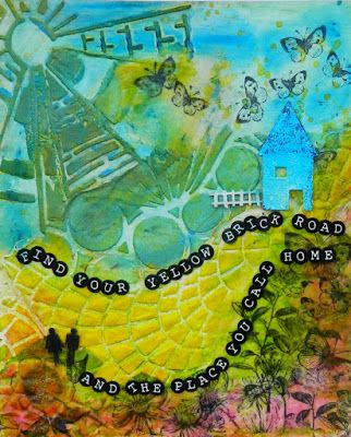 Tando Creative: Find your yellow brick road art piece: Anything goes week
