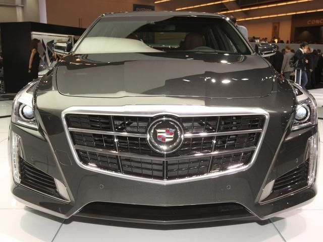 2014 Cadillac CTS Vsport is a leaner, meaner fighting machine (pictures) - CNET