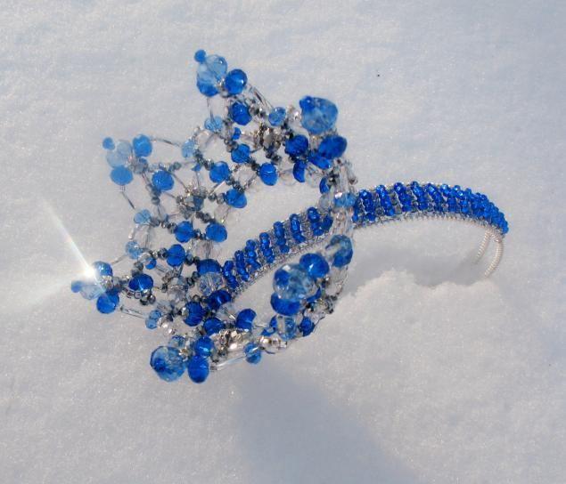 Каталог дизайн-вариантов свадебных, вечерних корон из хрустальных бусин. - Ярмарка Мастеров - ручная работа, handmade