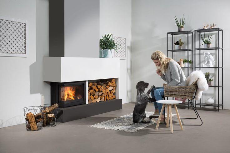 contemporary corner stove - Google Search