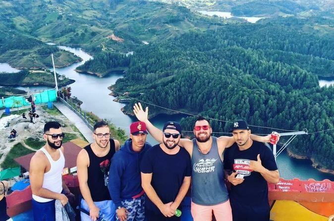 Private El Peñol and Guatape Tour from Medellin This private tour takes you to Piedra del Peñol, which is a very special mountain located in the Antioquia region in the Guatapé municipality and close to the little town of Guatapé.Piedra Del Peñol is located in the Andes. The highest point of the rock is 2.135 meters above sea level. The islands that surround Piedra Del Peñol create a spectacular view. The stairway to the top of Piedra Del Peñol is over 700 steps. The view is w...