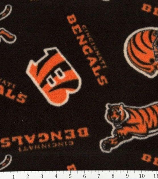 Cincinnatti Bengals NFL  Fleece Fabric