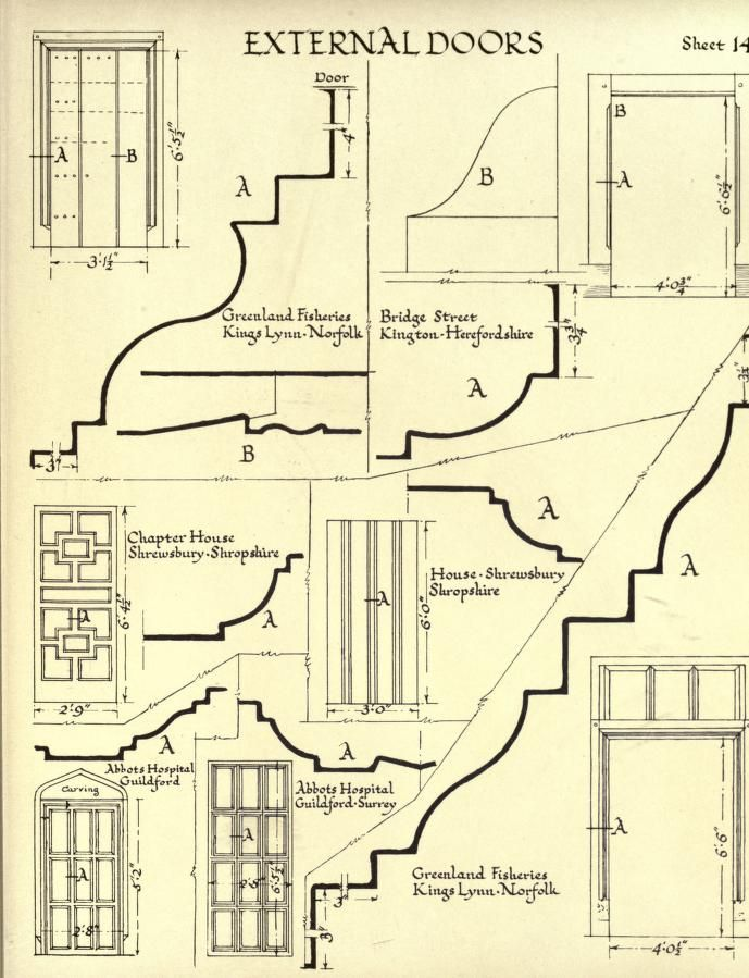 874 best tudor images on pinterest tudor architecture Full size architectural drawings