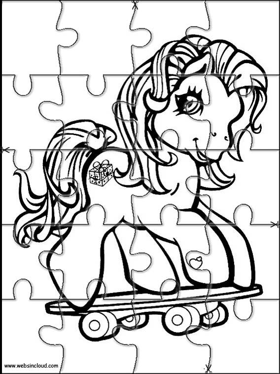 Printable jigsaw puzzles to cut out for kids My little