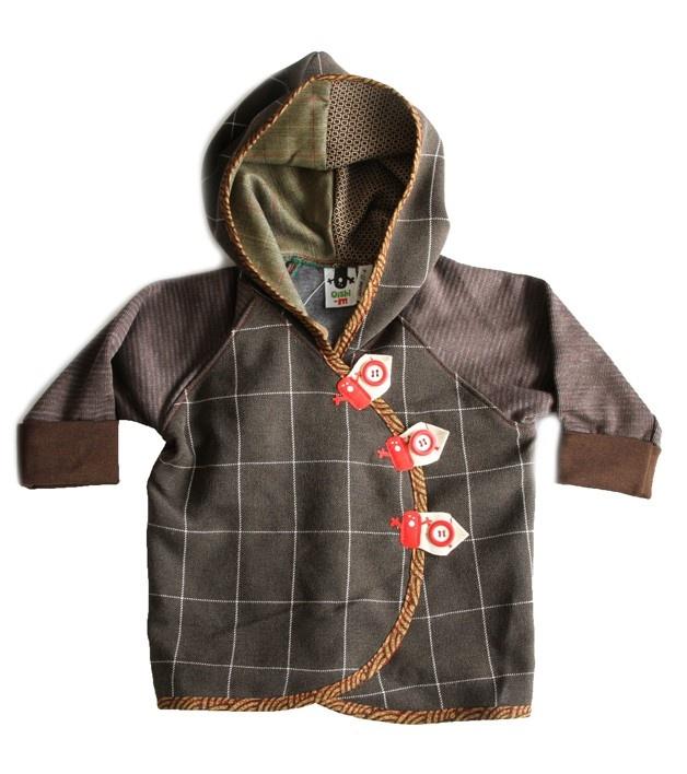 Oishi-m Brown Hornet Hoodie (http://www.oishi-m.com/tops/brown-hornet-hoodie/)