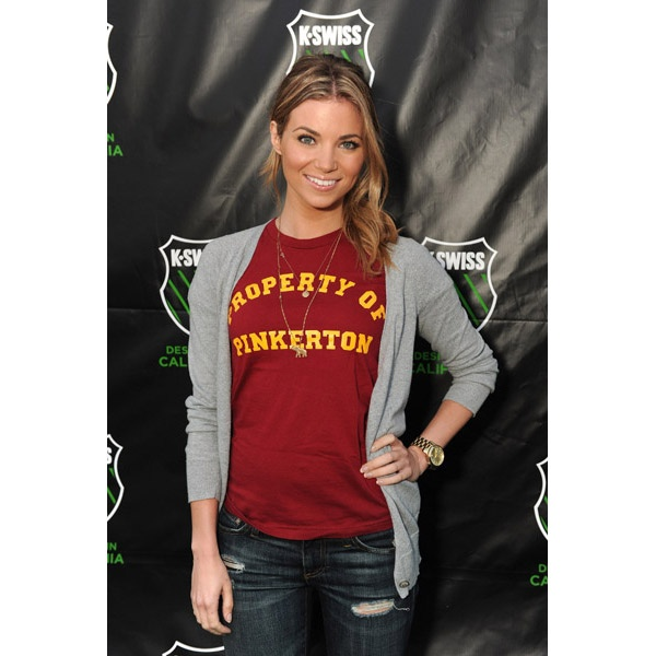 Amber Lancaster spotted with a Vannessa Mooney.  #EMBELLISHME #fashion  Get her look at www.TsAccessories2You.com.