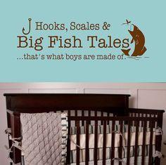 boys bedroom fishing theme - Google Search