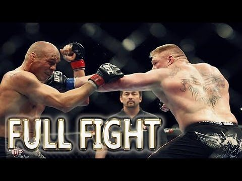 Brock Lesnar vs Randy Couture FULL FIGHT - UFC Fight Night Events - YouTube