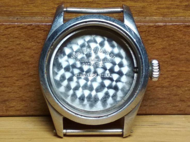 Vintage Tudor Montres Case Watch for Parts or Repair #Tudor
