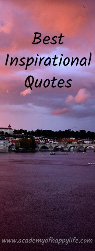 Best Inspirational Quotes. Receive your daily inspiration for the whole month. Be inspired for success.