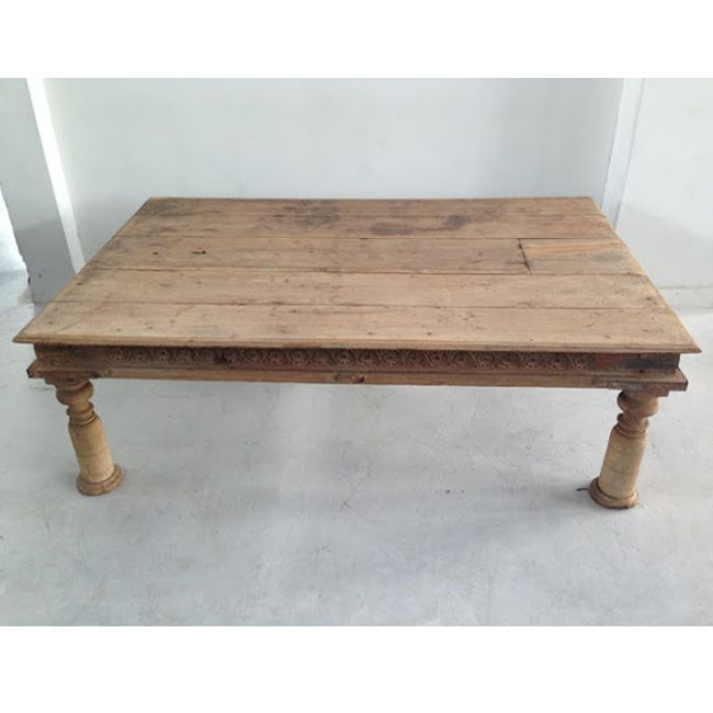 Come Shop Our Coffee Tables At Mix Furniture!! Old Teak Coffee Table With  Carved