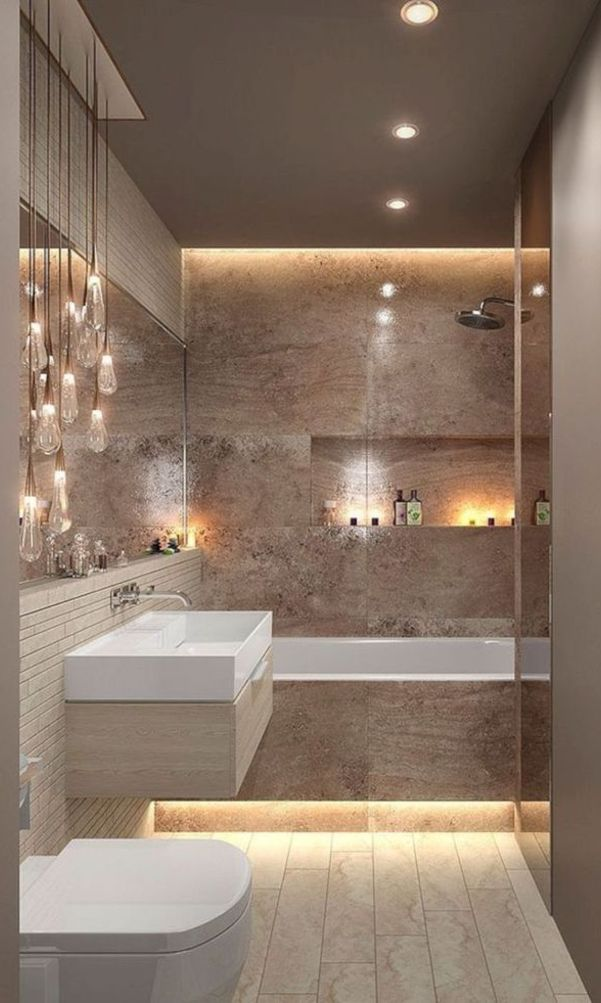 58+ Awesome Inspiring Design Ideas for Bathrooms 2020 Part ...