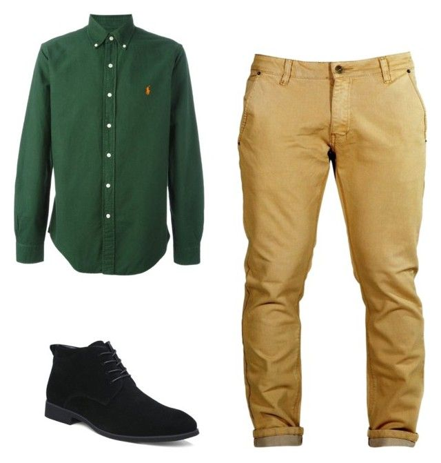 """""""cena"""" by luziagalvang on Polyvore featuring Polo Ralph Lauren, men's fashion y menswear"""