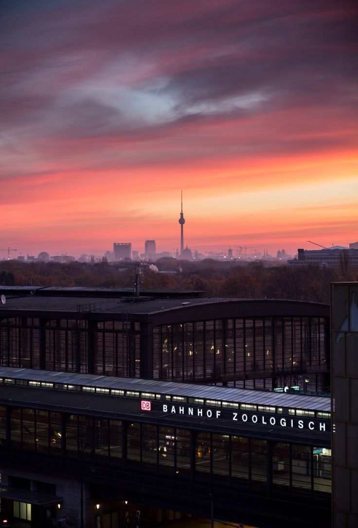 Epic Sunrise at Bahnhof Zoo Berlin Check out restaurants bars shops clubs u cultural hotspots that locals love in Berlin