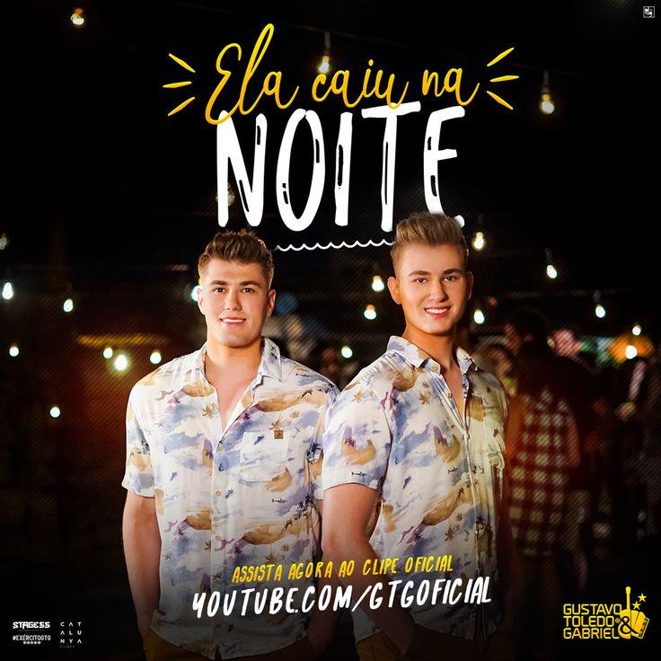 """Os irmãos paranaenses Gustavo Toledo e Gabriel lançam hoje, dia 21, sua nova música de trabalho, de nome """"Ela caiu na noite"""". A canção é Read more"""