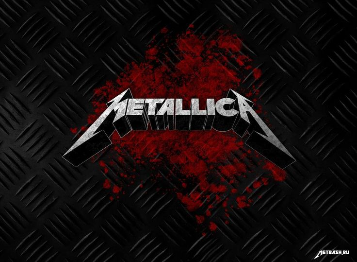 background metal rock band metallica logo images hd