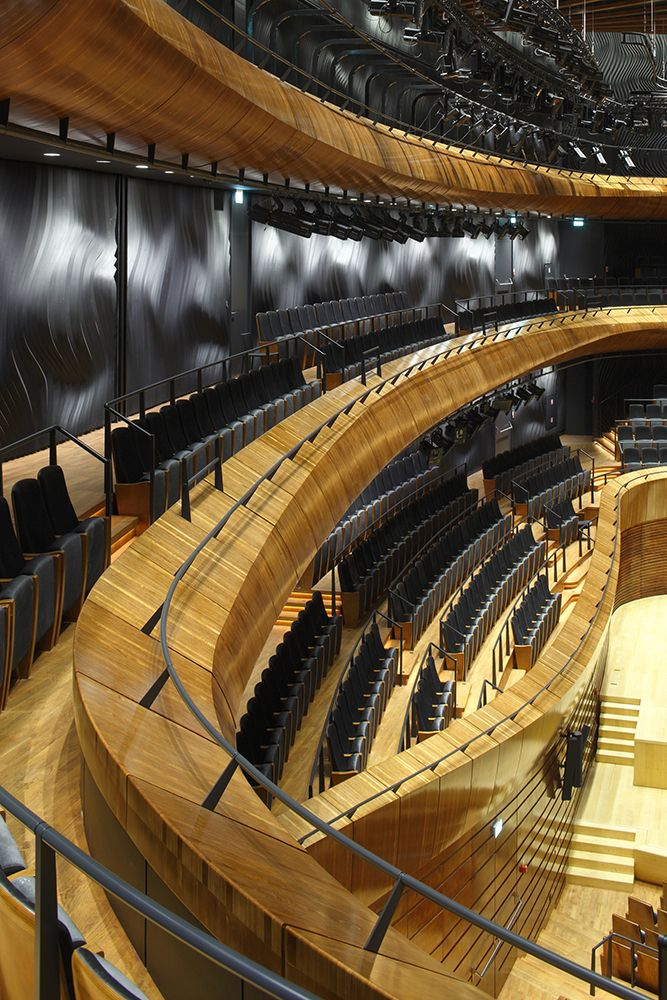 The Seat of the National Polish Radio Symphony Orchestra (NOSPR) | Katowice | Poland | Wood in Architecture 2014 | WAN Awards