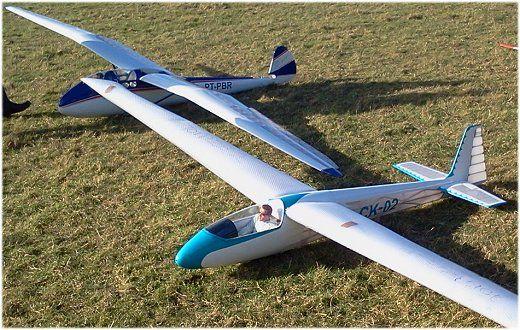 RC Sailplane Glider