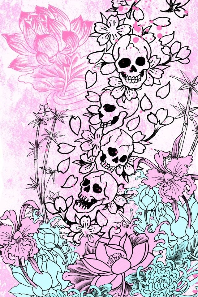 Best 25 flower phone wallpaper ideas on pinterest - Gothic wallpaper for phone ...