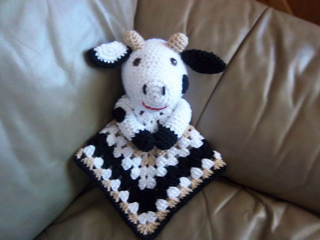 67 best Cow Crochet Patterns images on Pinterest | Tiermuster ...