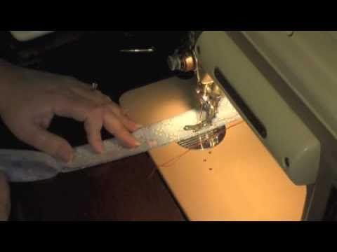 How to make a scrunchie scrunchy elastic hair band holder - Much easier!