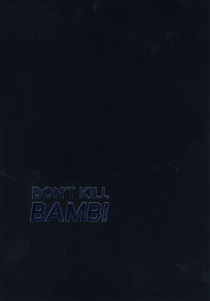 Versaweiss - Don't kill Bambi: The studio 54 phenomenon repositioned at time of crisis (BIOS / 2016)