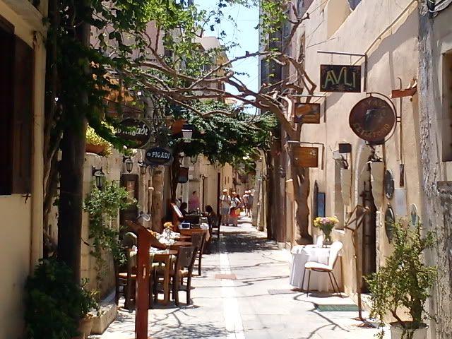 Rethymno alley