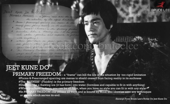 Bruce Lee Jeet Kune Do Quotes 17 Best images about J...