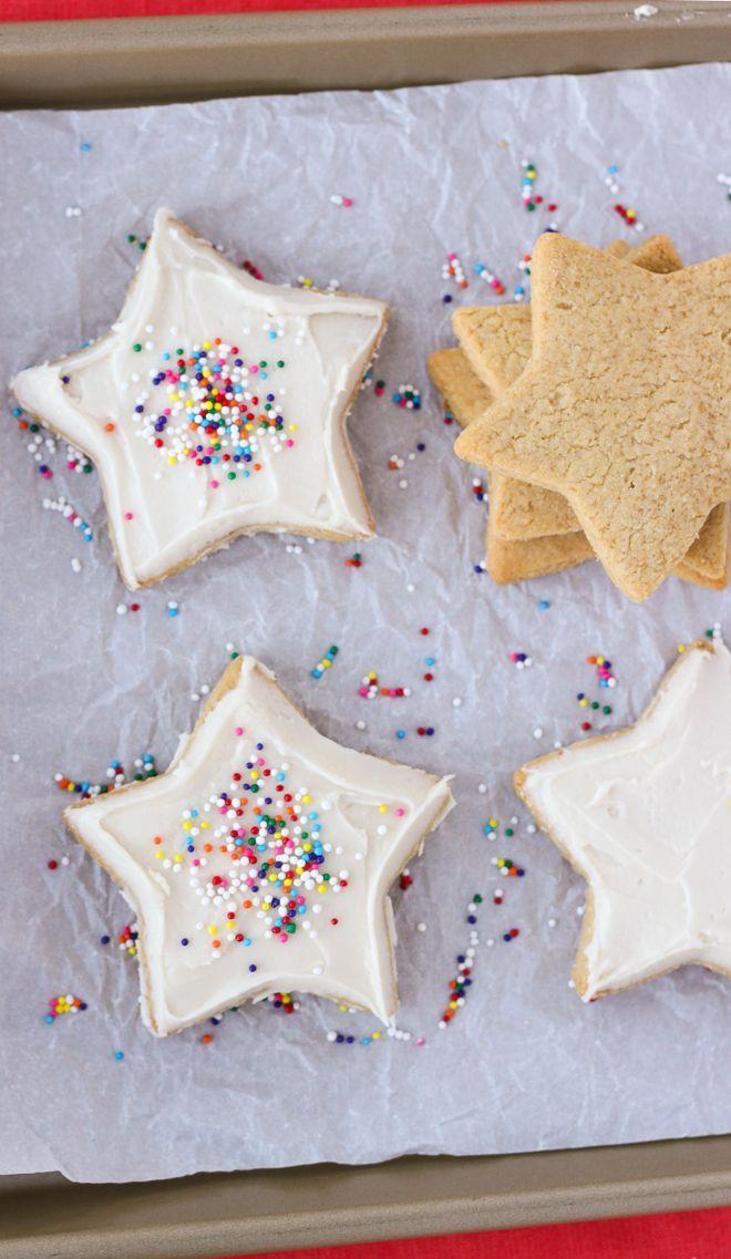 The Best Almond Flour Sugar Cookies {Gluten-Free, Grain-Free} | Meaningful Eats
