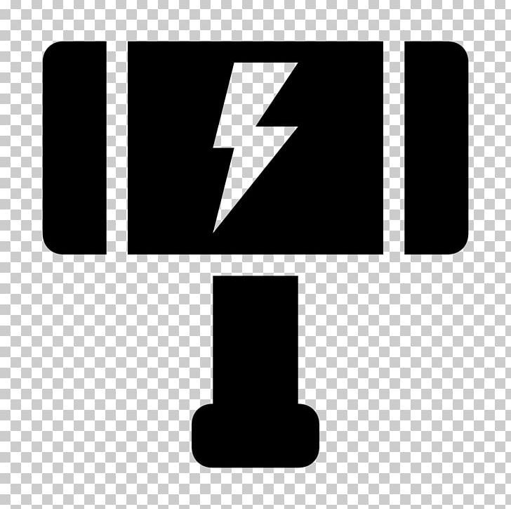 Thor Mjolnir Logo Computer Icons Hammer Png Black And White Brand Comic Computer Icons Hammer Computer Icon Thor Png