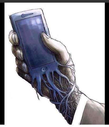 In a more disturbing fashion, this piece of art recognizes how technology is taking control of people's lives. Like the blood in our veins, the information transmitted through the wires of people's cell phones are becoming one with the very fabric of the individual. Protected by the illusions of practicality, connectivity, and entertainment, technology is parasitically eating away at  humanity. As it becomes 'one' with people's lives, it will be more difficult for people to live without it.