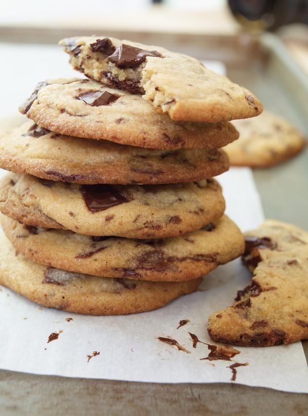 Recette de Ricardo de biscuits moelleux aux brisures de chocolat