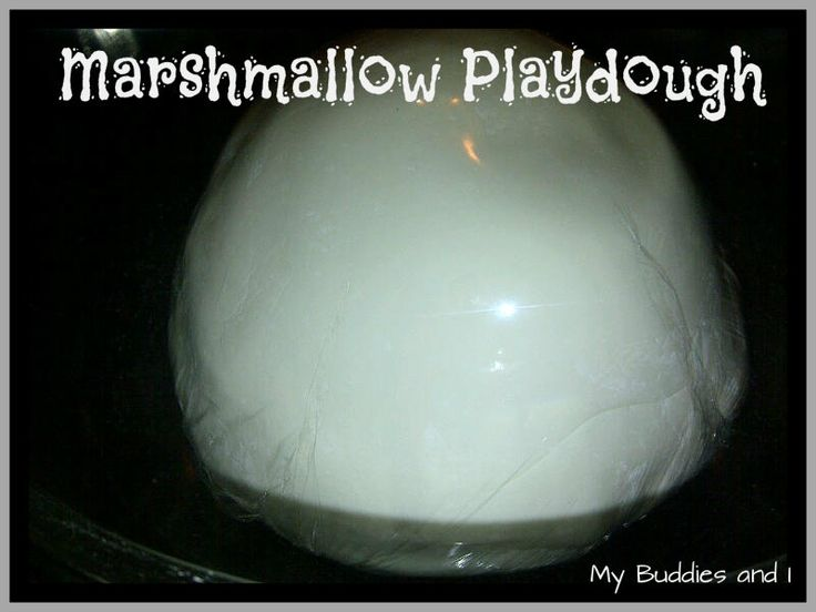 Marshmallow Playdough, delightful, edible & yummy playdough @mybuddiesandi